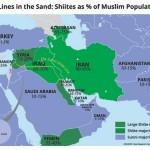 【地図と解説】シーア派の中東での分布