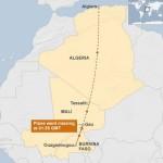 【地図と解説】墜落したアルジェリア航空機の不吉なルート