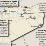 米国のシリア空爆への第一報と論調