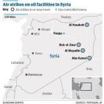 【地図と解説】「イスラーム国」の押さえる油田と密輸ルート
