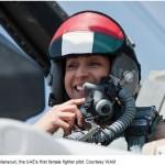 UAEは女性パイロットを、サウジは王子様パイロットを動員して、米世論と対イスラーム国でイメージ戦略