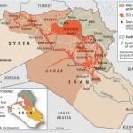 【地図と解説】イラク情勢:シリア・ヨルダンとの国境地帯の制圧が続く~6月24日