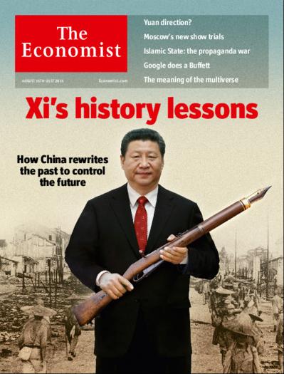 Xi's history lessons Economist 15 Aug 2015