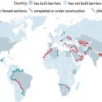 【地図で読む】国境フェンスのグローバル化