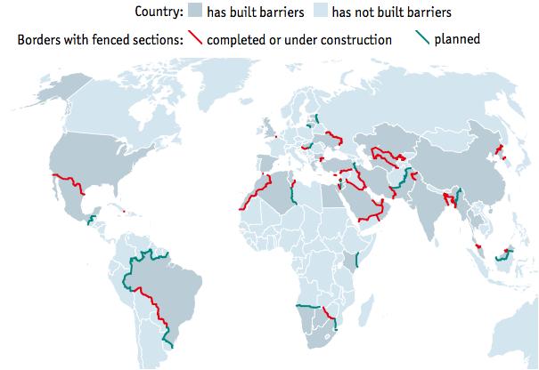 防御フェンスの地政学
