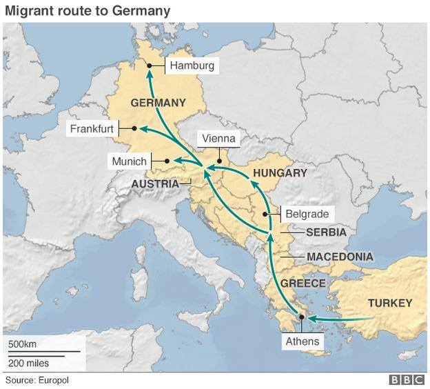 シリア難民トルコ・ギリシア・ルート