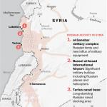 【地図で読む】「アサド朝シリア」を支えるロシア軍基地