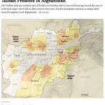 【日めくり地図】ターリバーンが支配領域を拡大