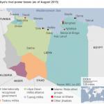 【今日の一枚】(4)リビアの分裂状況(その2)全土