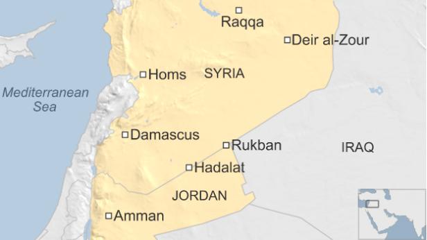 ヨルダン・シリア国境ルクバーン
