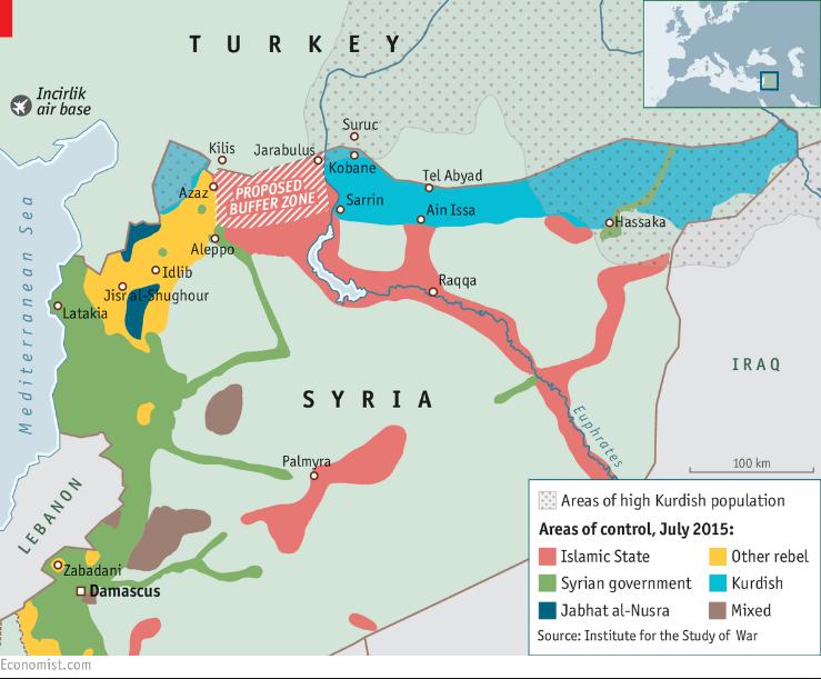 トルコの回廊要求2015年7月