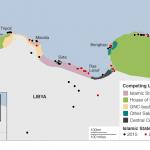 【今日の一枚】(3)リビアの分裂状況(その1)沿岸部(2016年2月)