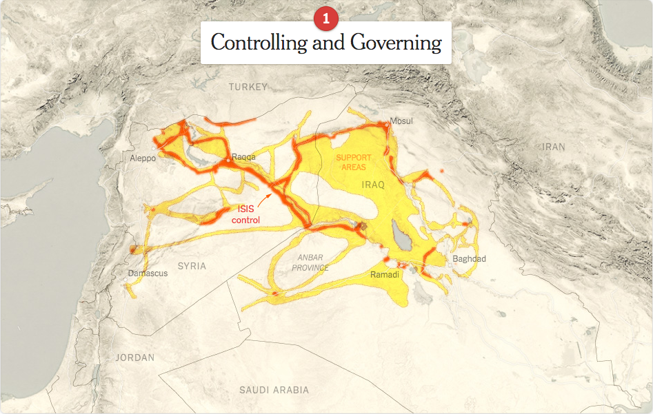 How ISIS Expands NYT May 2015