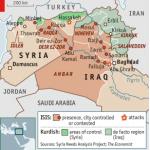 【今日の一枚】(11)「イスラーム国」のイラクとシリアでの領域支配の変遷(その1)衝撃の瞬間