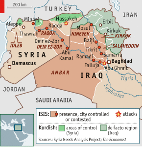 ISIS Iraq Syria June 14 2014 Economist