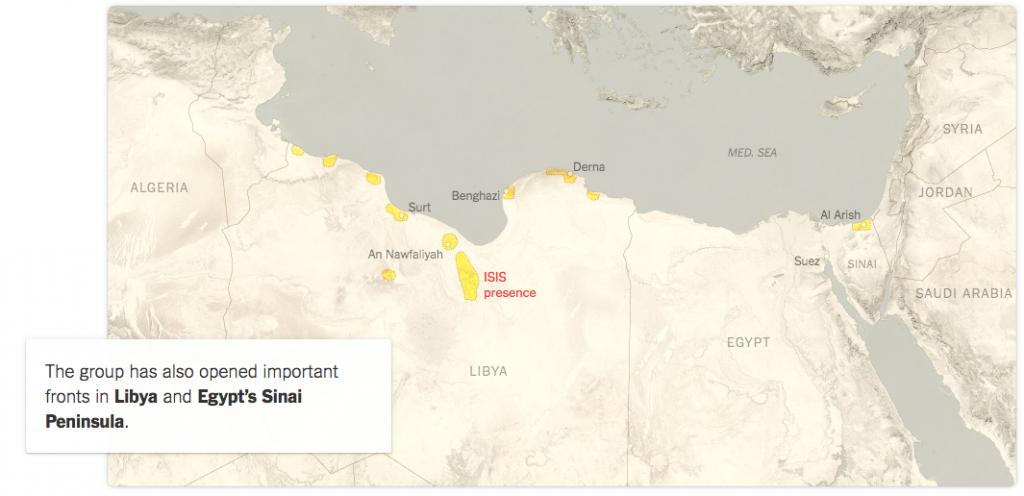 ISIS Libya May 2015 New York Times