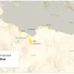 【今日の一枚】(5)リビアの分裂状況(その3)「イスラーム国」への呼応の萌芽期