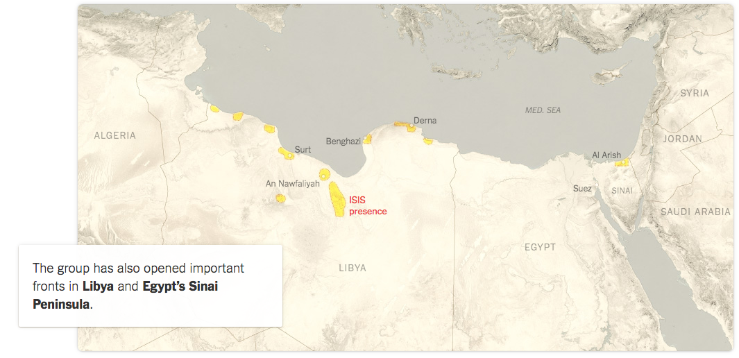 ISIS Libya May 2015 New York Times