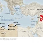 【今日の一枚】(7)リビアの分裂状況(その5)年表を作ってみた