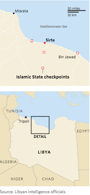 ISIS in Libya WSJ Nov 2015