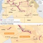 【今日の一枚】(10)ロシアがシリア南方タニフを空爆:標的は米・英に支援された反体制派