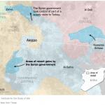 【今日の一枚】(9)2016年2月アサド政権のアレッポ北方攻勢