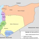 【今日の一枚】(25)シリアを分割するなら フランス委任統治時代の試み