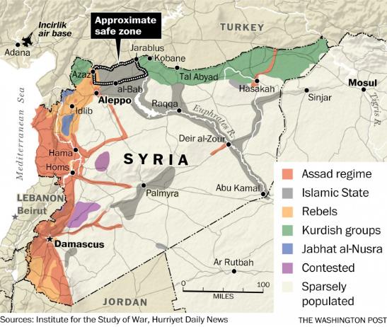 シリアの飛行禁止区域ワシントン・ポスト