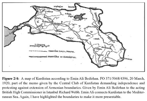 クルド人領土要求ベディルハーン
