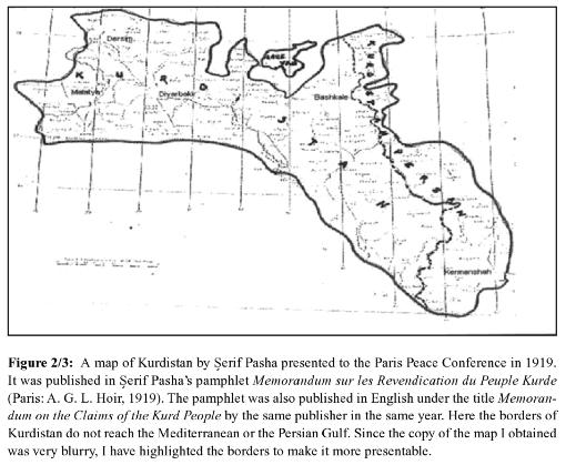 クルド人の領土要求1919シェリーフ・パシャ