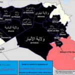 【今日の一枚】(31)中東の国境線を引き直すなら(5)イスラーム国の黒地図