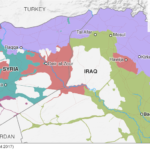【今日の一枚】(34)過去1年の「イスラーム国」支配領域の縮減
