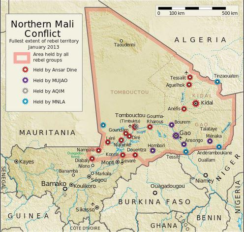 2012と13マリ北部紛争