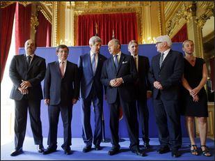 ガザ紛争調停パリ会議7月26日