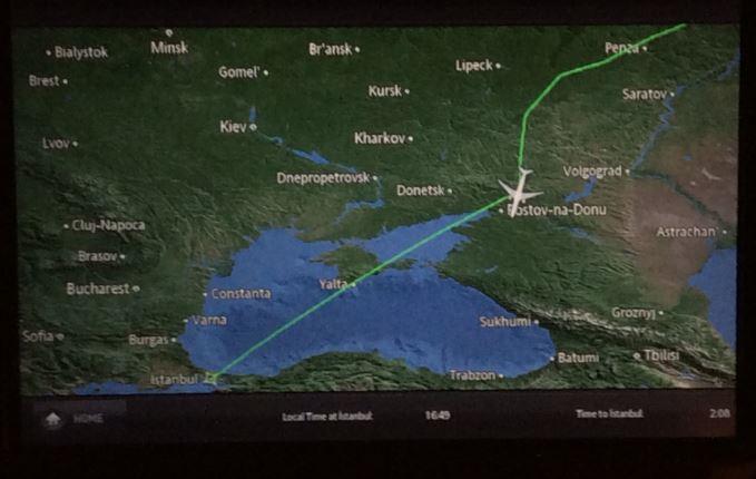 ウクライナ上空回避5