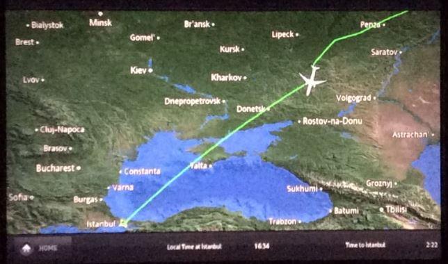 ウクライナ上空回避2