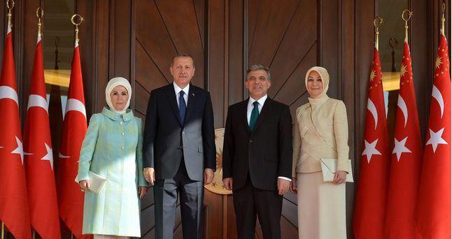 エルドアン大統領就任2014年8月28日