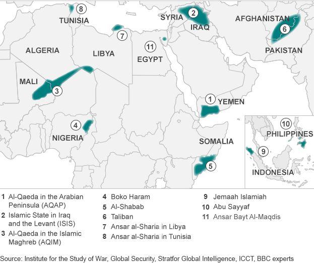 グローバル・ジハードの広がり