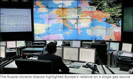 ロシア・ウクライナ・西欧のパイプライン紛争2008・9_BBC