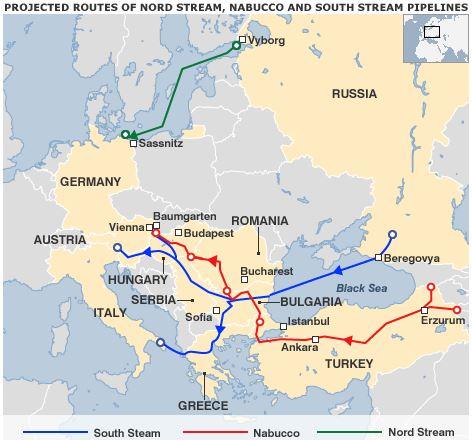 ロシアとトルコのパイプライン国際政治BBC_2009