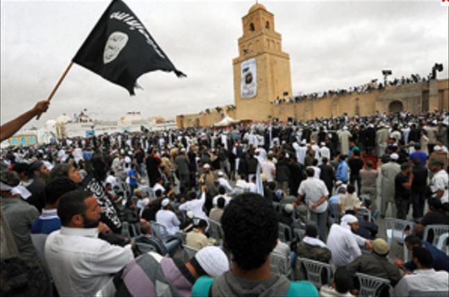 チュニジアのアンサール・シャリーアと黒旗