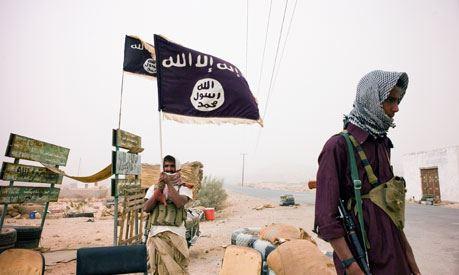 黒旗イエメンのアルカイダ