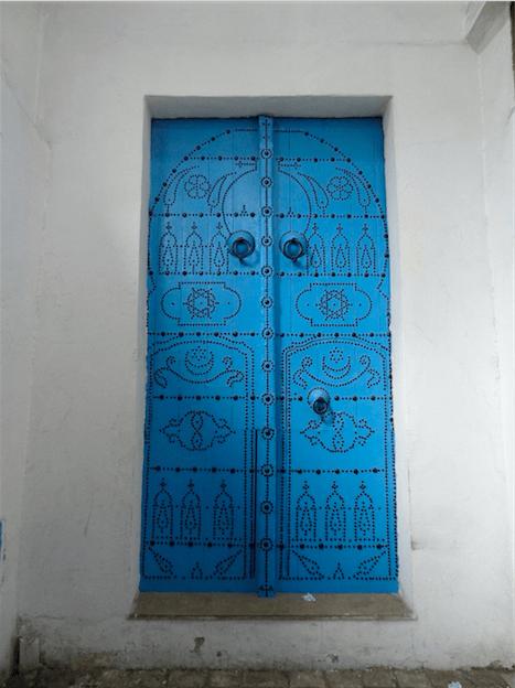 チュニジアのドア1