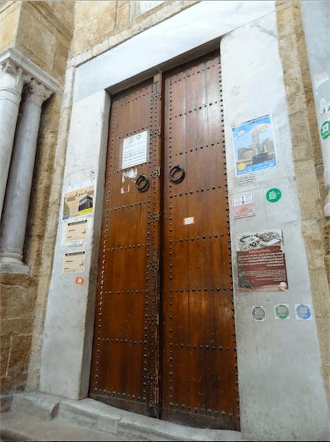 チュニジアのドア3
