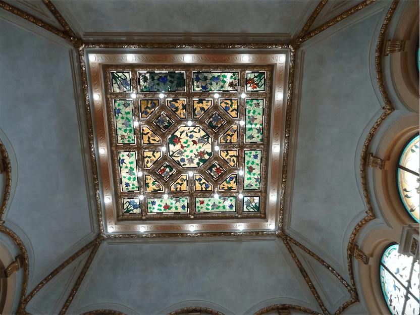 チュニスホテル天井