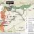 【地図】トルコはシリア北部の「安全地帯」でクルド勢力分断を図る